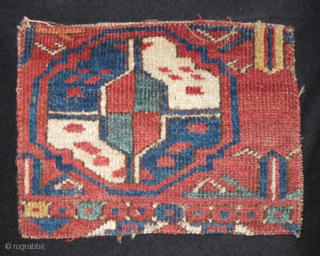 SOLD Middle Amu Darya Turkmen Gul Rug Fragment