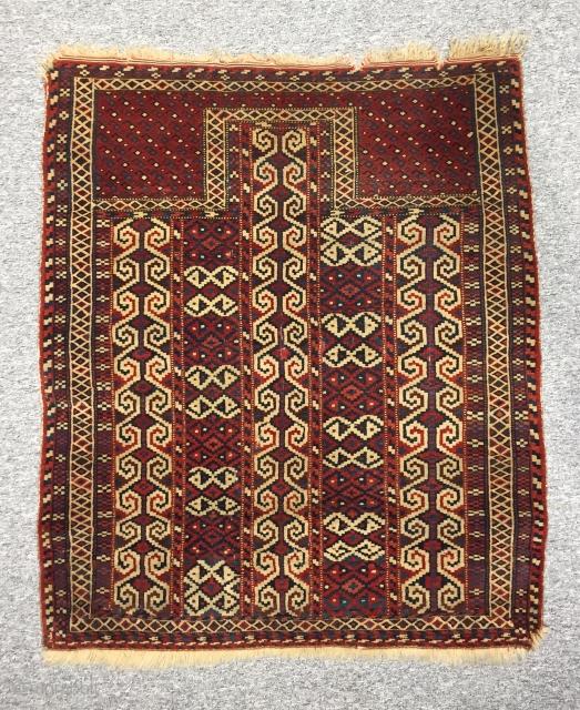 Turkmen Rug 100 cm x 135 cm
