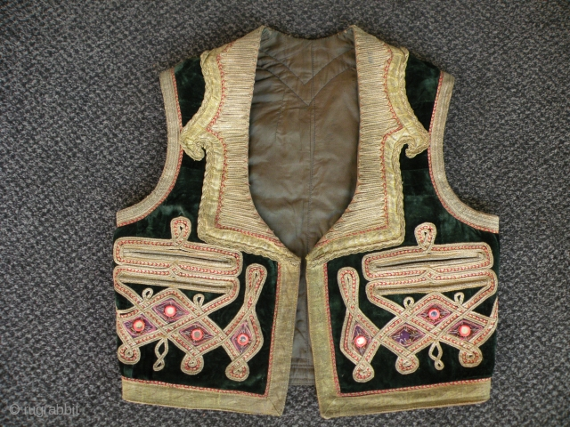 Antique vest, Afghanistan