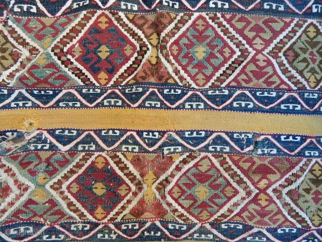 Antique East Anatolian Cecim Chuval Face