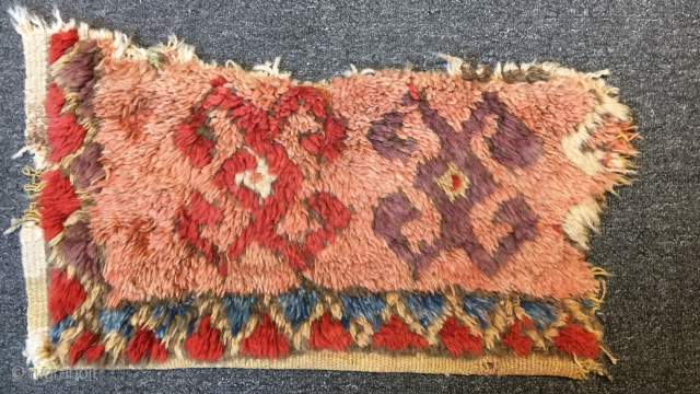 Antique Anatolian Rug Fragment