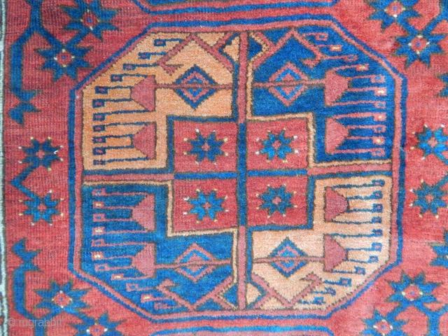 Turkmen Ersari Main Carpet size.290x235cm