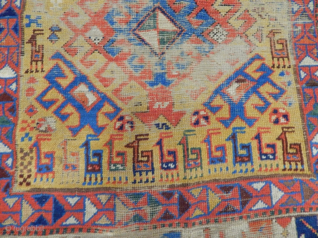 Old Sahsavan Carpet Fragment