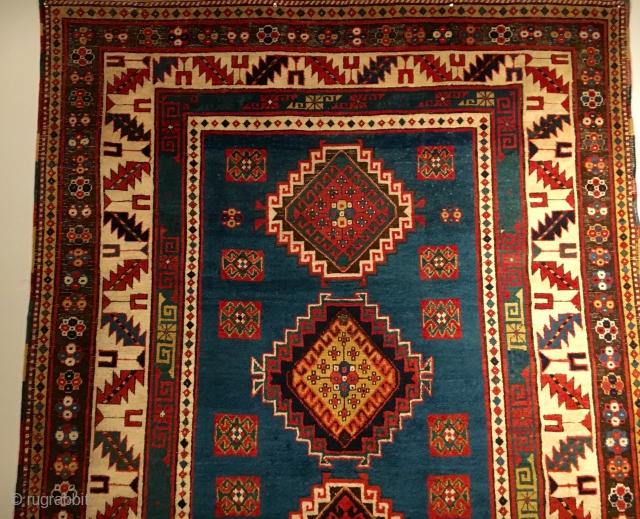 Old Caucasian Kazak Rug
