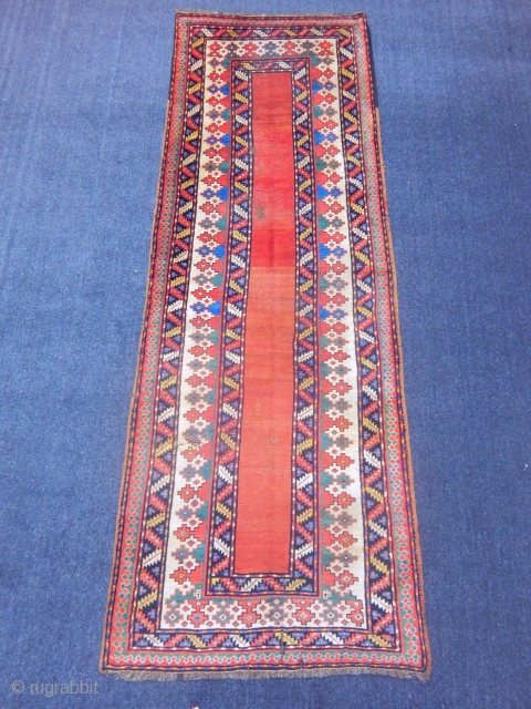 Caucasian Lenkoran Talish Carpet size.345x120cm
