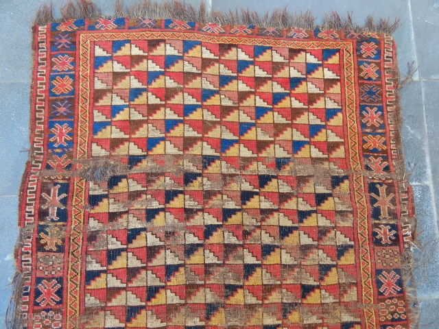 Antique Turkmen Besir Carpet