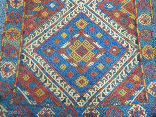 Old Anatolain Cecim Yastık size.95x50cm
