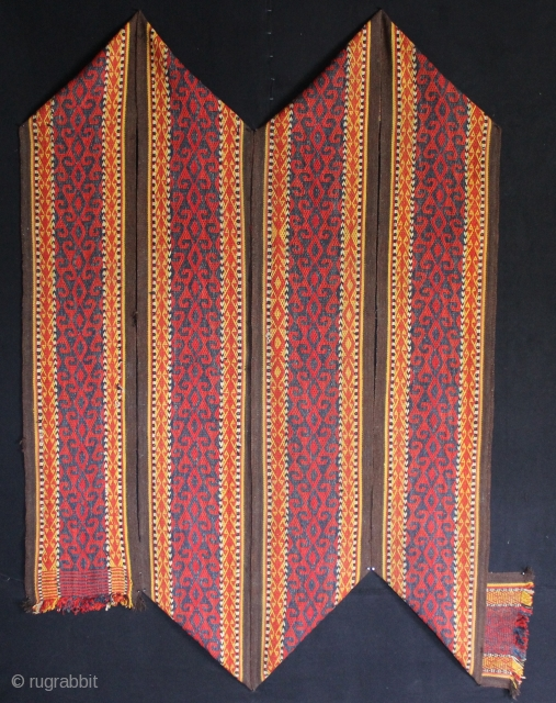 A beautiful 1900s Tent band probably Uzbek or Kyrgyz. 