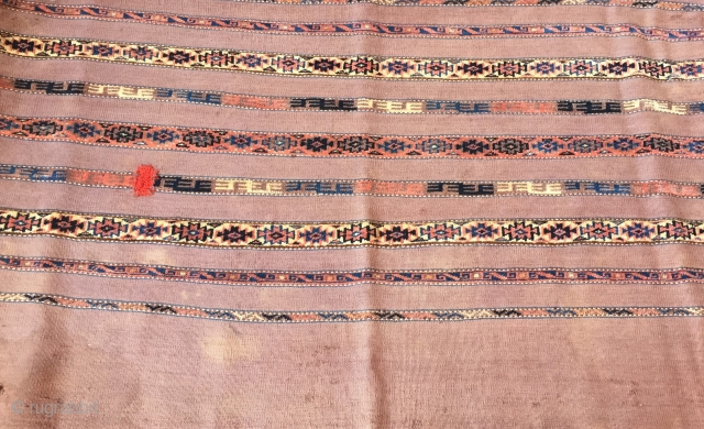 Turkmen-Antique Tribal Chuval Size : '124cm x 80cm' Thank you for visiting my rugrabbit store !