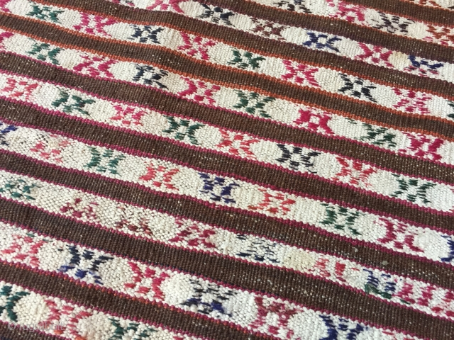 Naturel beautifull colour Turkmen-Yomud Kilim-Rug Late 19th Size : '110cm x 90cm' Thank you for visiting my rugrabbit store !