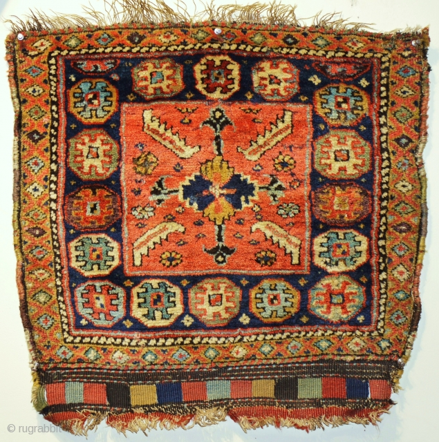 a super piled bag made by Kurds of Shasavan first half 19C