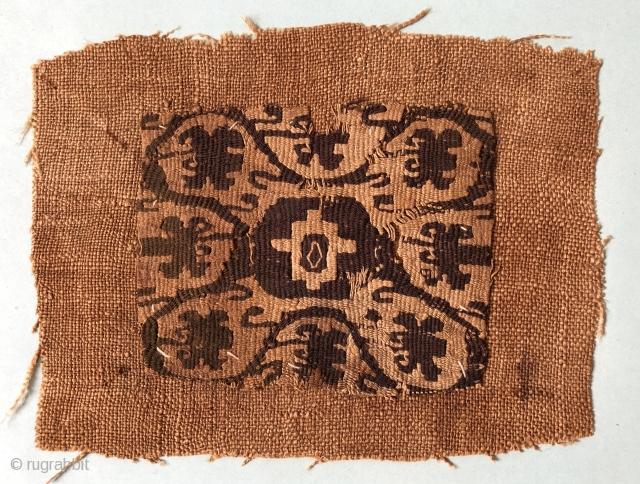 Coptic textile fragment ca 5/6 C