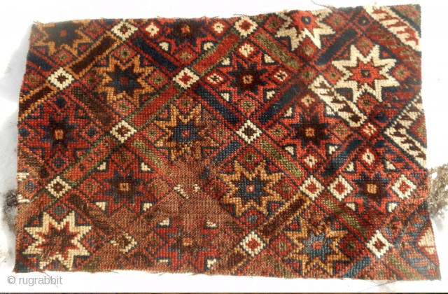 An 18th century Konya or Baluch fragment? Take a look at: Tom Cole's icoc Paper - The Relationship of Baluch Weavings To An Earlier Anatolian Model. You may also wish to compare  ...