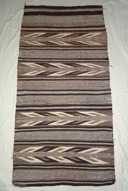 Antique Navajo rug.