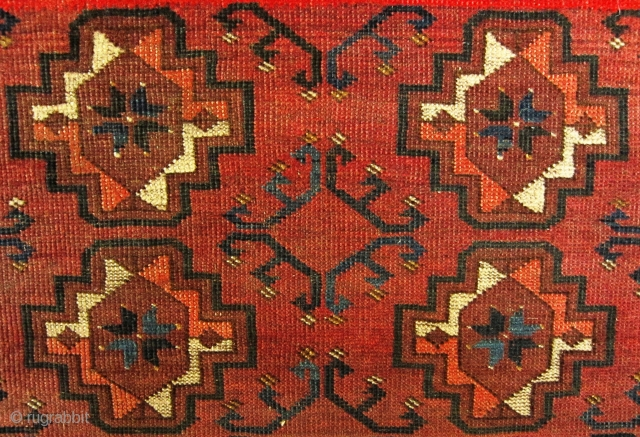 A late 19th century Ersari  Rug 