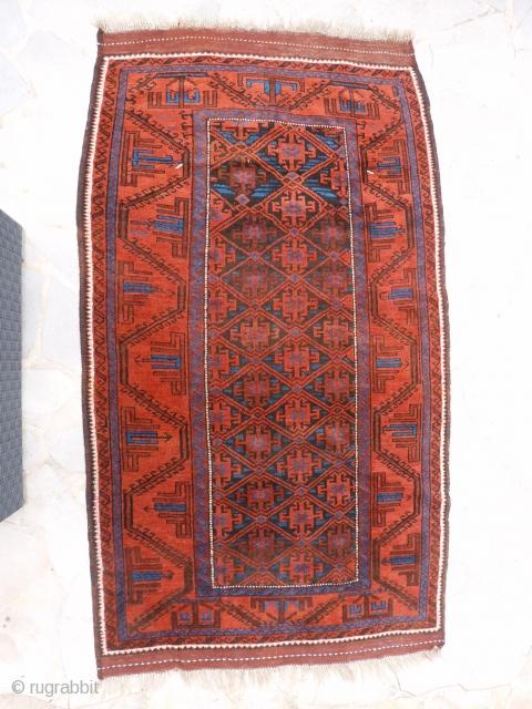 Kordi Belutch circa 1900. 220 X 122 cm. Perfect condition.