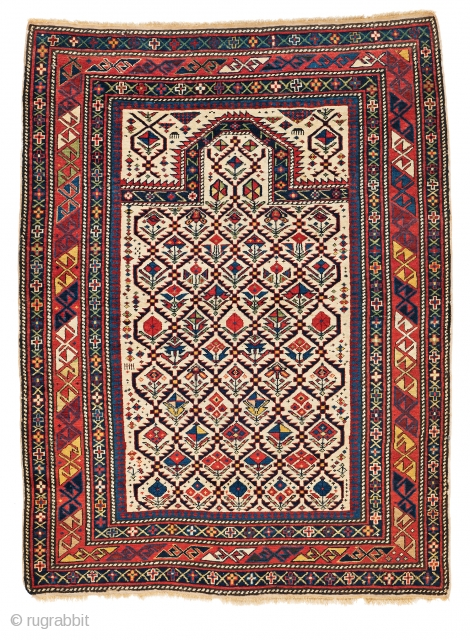 Lot 6, Daghestan Prayer Rug,