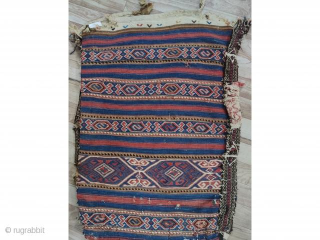 "West Anatolian Balıkesir Yüncü Chuval Size:94x62/3'1""x2"""