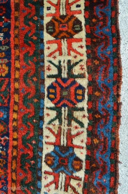 """Kurdish rug. 8'7"""" x 4'7"""""""