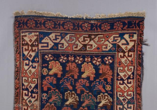 """Caucasian cabbage rug. 7'1"""" x 2'10"""""""