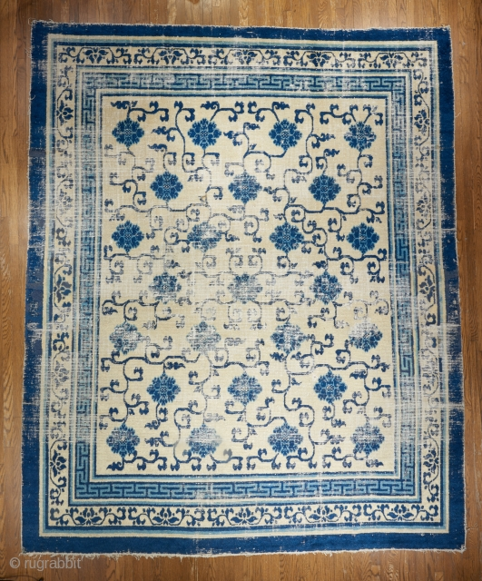 This majestic Kangxi era carpet will be on display at my booth in the dealer's section of the upcoming ICOC in Washington DC.