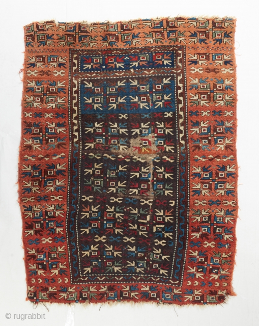 A super funky Anatolian rug. Probably from somewhere in the east. Probably has a bad red towards the top. Please ask for more details. 