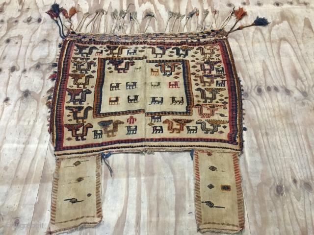Qashgaie jajim early 20th century  160x145 cm
