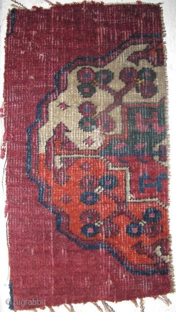 Salor fragment, half gul from a main carpet