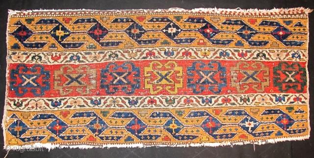 Shahsevan Pile Mafrash Panel, good colors