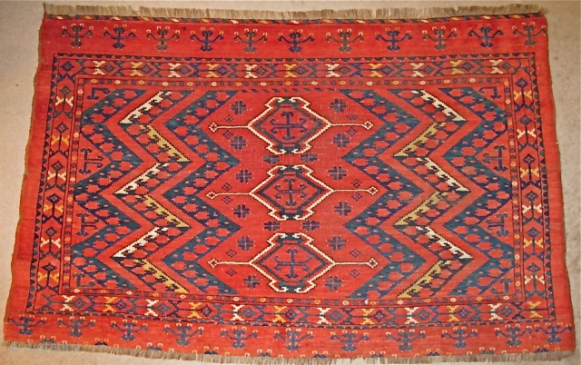 Large Central Asian Middle Amu Darya Chuval