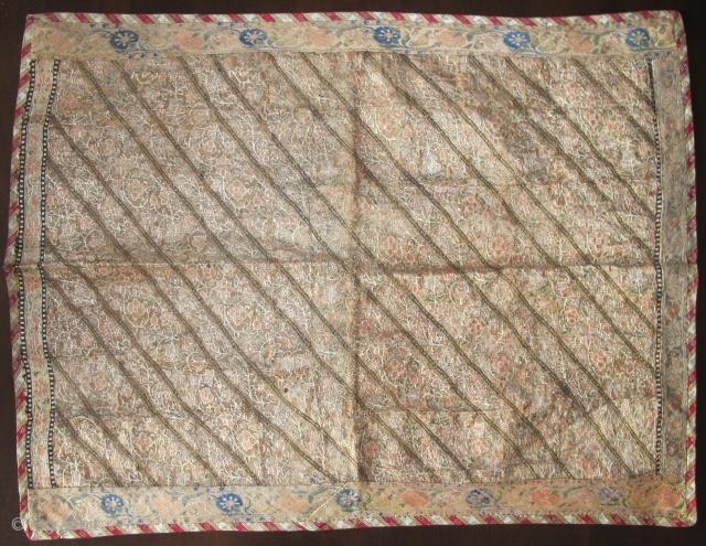 Safavid Persian silk and metal thread textile. Former MFA, Boston piece.