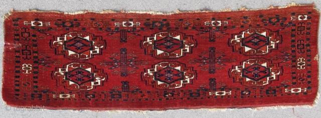 Saryk 6 Gul Torba with silk and cotton highlights