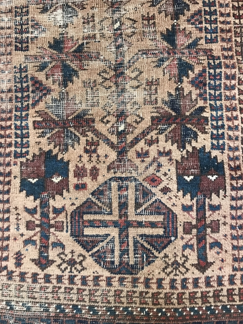baluch party, three rugs for the price of one...