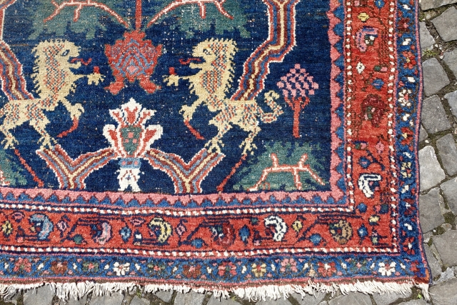 """Online Auction ends this Sunday 4th of June, LION RUG , RAREST NW GROUP DESIGN, LIONS   Online-Bidding:   http://stores.ebay.com/LETS-MAKE-A-DEAL-AROUND-7-AFTER-7?_trksid=p2047675.l2563  LION RUG , RAREST NW GROUP DESIGN, LIONS i,3' 3"""" x 5'6 or 102cm  ..."""