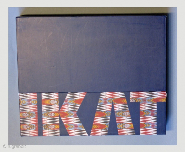Over-sized hard cover book in a box