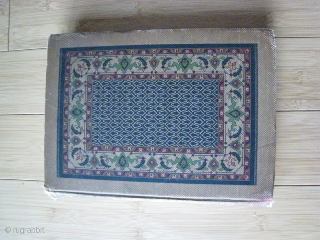 Book: RUGS Oriental and Occidental Antique & Modern.  By Rosa Belle Holt.  A. C. McClurg & Co. Chicago, 1908.  Second edition, new and enlarged.  33 illustrations, 12 in  ...
