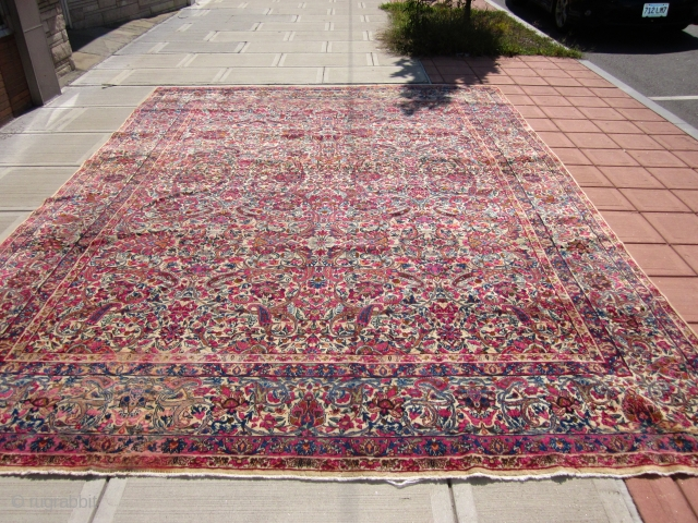 BEAUTIFUL 10 X 14 FT KERMAN  -$1200