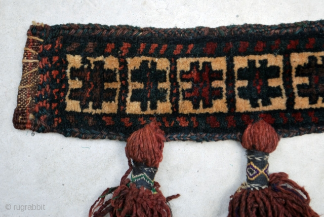 Small Baluch trapping West Afghanistan, 8 x 50 cm. Good condition.