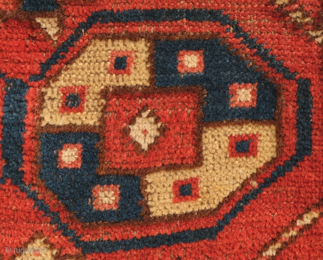 Central Asian, probably Uzbek, Napramach ( small rug, yastik size)