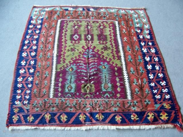 Turkish Prayer Kilim 1,22*1,30