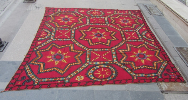TASKENT SUZANI 242 X 210  GOOD CONDITION