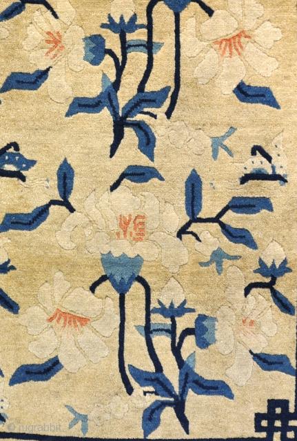 Beautiful Peking Dozar, circa 1900 in excellent original condition, clean and floor ready.