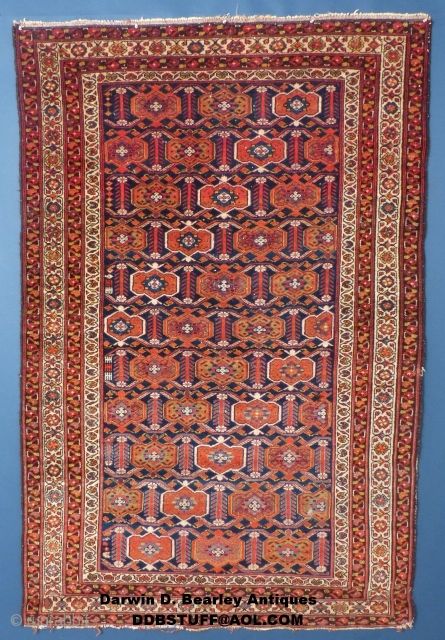 "Antique Afshar or Malayer(?)Persian, c.1900, 80"" X 52"", Very good condition.