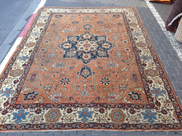 Tabriz rug size:315x227-cm please ask
