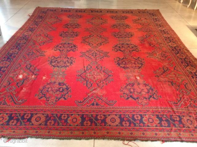 Turkish Oushak size:423x334-cm ask good price