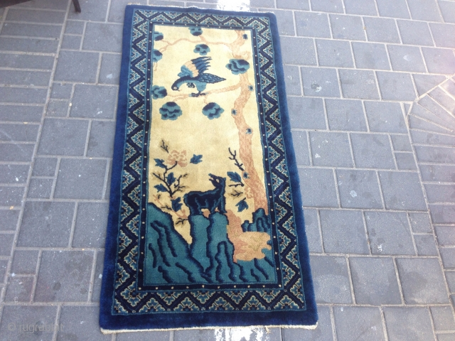 Peiking China small rug size:123x60-cm good price ask