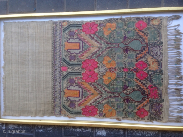 Embroidered turki ? 80x46-cm please ask