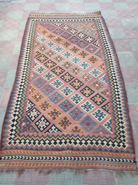 Antique kilim persian size:265x145-cm please ask