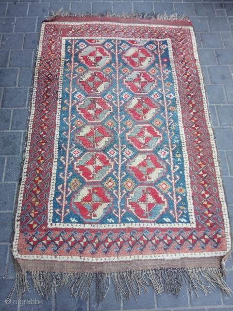 Baluch or curdi rug? Size:160x107-cm