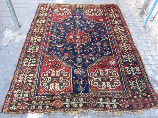 Gashgai Lovely colors size:202x150-cm / 79.5x59.0-inches